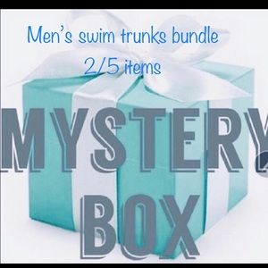 Other - Men's ministry swim trunks bundle 2/5 items